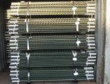 Столбы загородки американца 6.5FT обитые 1.33lb стальные t