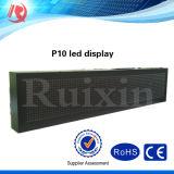 Écran LED bleue et rouge P10 LED LED du panneau d'affichage 1R1b Module