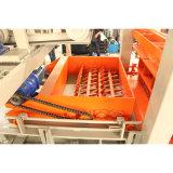 Vollautomatischer konkreter Kleber-Ziegelstein, der Maschine bildet