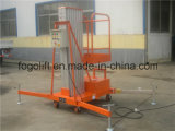 elektrische van 8m de Lift van het Platform van de Legering van het Aluminium van de Hydraulische of Macht van de Batterij