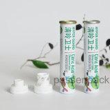 Tubo solido di alluminio di lusso per i ridurre in pani effervescenti