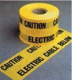 아래에 지하 비 탐지가능한 경고 테이프 가스관