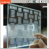 3-19mmacid ha inciso l'anti vetro slittante Tempered della scala