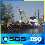 新しい条件運河の浚渫船のタイプ大きい砂の吸引の浚渫機