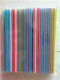 Recht Plastic het Drinken van kleuren Stro met Scherp Eind
