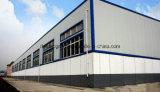 Magazzino professionale prefabbricato chiaro di disegno e di fabbricazione della struttura d'acciaio