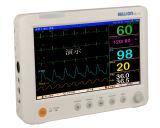 Médico 10.1 pulgadas portátil multiparámetro Monitor de paciente
