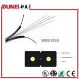 4 Ядра Gjxv FTTH оптоволоконный кабель для установки внутри помещений