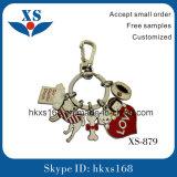 주문 로고 금속 트롤리 동전 열쇠 고리