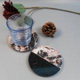 De Onderlegger voor glazen van uitstekende kwaliteit in het Marmer van het Mozaïek