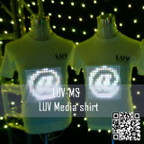 EL T-Qualizer shirt voor de show