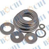 Divers types de haute résistance de la rondelle plate en acier inoxydable