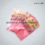 Ziplock Baggies Plastic Transparente Saco de válvula PE retrátil