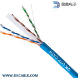 CAT6 Blindado sólido de cable a granel (F / UTP) PVC 1000FT