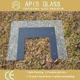 Impreso de cerámica de vidrio templado quemadores de gas/Cristal superior
