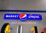 Signes promotionnels de DEL d'affaires légères rectangulaires oblongues extérieures du signe DEL annonçant le cadre