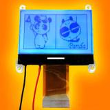 Положительный график LCD разъема FPC