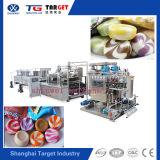 Excellente qualité des bonbons durs contrôlés par le PLC automatique du dépôt de la ligne avec la profession de la fabrication
