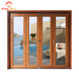 Estilo clásico chino de tamaño personalizado de aluminio y ventanas de aluminio