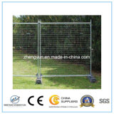 Caliente se sumergió galvanizado Standerd Removable Temporary Fence,