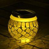 Vaso solare di Sun di vetro di mosaico per colore verde della decorazione (RS114)