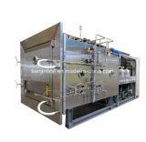 Secadora / máquina de secagem de frutas e vegetais para congelação