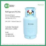 Gas refrigerante (R134A) en lata de hojalata para automóviles