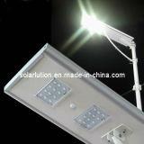 La rue 25W /Rue/solaire/Toutes les LED solaire intégré dans l'un éclairage solaire (SLLN-225)