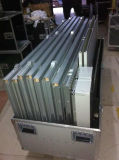 Aluminio estándar moderno diseño de stand de exhibición personalizado