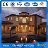 Colore di legno roccioso Windows di alluminio e portelli
