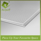 600*600*4,5 mm Matériau de construction en aluminium, décoration les dalles de plafond
