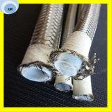 Cheap Teflon Hose con alambre de acero inoxidable cubierta trenzada