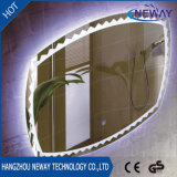El cuarto de baño decorativo IP44 impermeabiliza el espejo ligero del LED