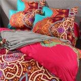 Especialidade indiana Mandala Edredão Cobrir Leveza Edredão cobrir com travesseiros Cama Queen Boho Definido