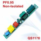 6-20W Hpf 비고립 T5/T8 LED 관 빛 전력 공급 QS1178