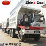 Diesel d'homme d'exploitation de Sinotruck HOWO camion- de vidage mémoire de 70 tonnes