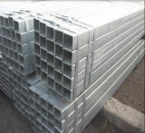 tubo d'acciaio galvanizzato Hot-DIP quadrato di 50X50mm/tubo d'acciaio saldato