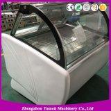L'utilisation commerciale de la crème glacée Showcase Popsicle vitrine de présentation