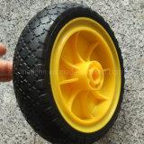 8X2 200X50 200X80 8X2.50-4 fester Gummi PU-Schaumgummi-flaches freies Gummireifen-Reifen-Rad