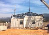 Painéis do tipo sanduíche de EPS Panelprefabricated Estrutura de aço acabados/ Pré-house (XGZ-302)