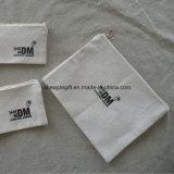 Bolsa de cosméticos de algodão personalizado