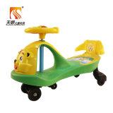 Carro antiquado da torção dos miúdos das rodas do plástico da alta qualidade