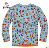 2014 Nouveau Le garçon coton imprimé d'enfants T-Shirt à manches longues