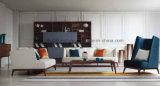 Base moderna del estilo de la venta del dormitorio de la tela blanca caliente de los muebles (MB1203)
