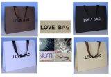 クラフト袋または靴の袋または衣装袋か紙袋/ギフト袋/ショッピング・バッグ