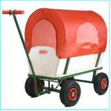 赤ん坊のために木子供のトロリーワゴンカート