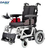 Кресло-коляска электричества рамки Al складывая с 16 24 места дюйма ширинами дюйма к