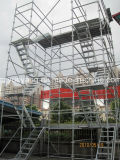 Kwikstage Scaffolding-Steel Modular escada da plataforma