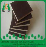 O preto marinho da madeira compensada/película de Brown enfrentou a folha da madeira compensada para a construção e bens imobiliários