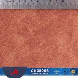 Couro liso do PVC do Synthetic do polimento quente da venda para bolsas dos sacos das sapatas